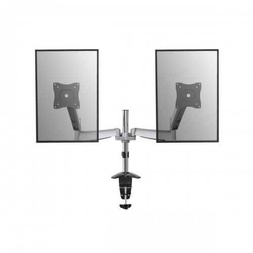 """Equip 650113 Articulating Dual Monitor Stand, Clamp Desk Mount, 13"""" - 27"""""""