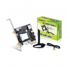 Gigabyte WB1733D-I 2x2 802.11ac WiFi and Bluetooth 5 PCI-Express Card with External Antenna