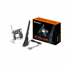 Gigabyte WBAX200 2x2 802.11ax WiFi 6 and Bluetooth 5 PCI-Express Card with External Antenna