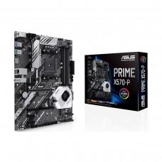 ASUS PRIME X570-P, AMD X570 Chipset, Socket AM4, ATX Desktop Motherboard