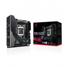 ASUS ROG STRIX Z490-I Gaming with WiFi, LGA1200, Mini ITX Desktop Motherboard