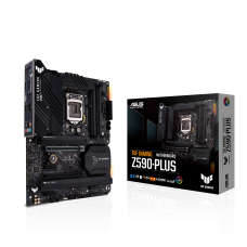 ASUS TUF GAMING Z590-PLUS, Intel Z590 Chipset, LGA1200, ATX Desktop Motherboard
