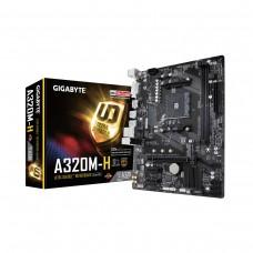 Gigabyte A320M-H, AMD A320 Chipset, Socket AM4, Micro ATX Desktop Motherboard