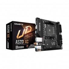 Gigabyte A520I AC with WiFi, Socket AM4, Mini ITX Desktop Motherboard