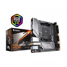Gigabyte B450 I AORUS PRO WIFI, Socket AM4, Mini ITX Desktop Motherboard