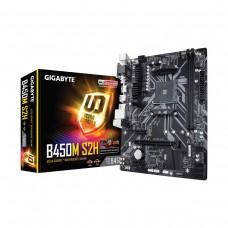 Gigabyte B450M S2H, AMD B450 Chipset, Socket AM4, Micro ATX Desktop Motherboard
