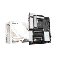 Gigabyte B550 VISION D-P with Wi-Fi, AMD B550 Chipset, Socket AM4, ATX Desktop Motherboard