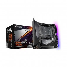 Gigabyte B550I AORUS Pro AX with WiFi, Socket AM4, Mini ITX Desktop Motherboard