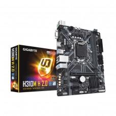 Gigabyte H310M H 2.0, LGA1151, Micro ATX Desktop Motherboard