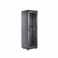 Finen 27U Floor Standing Network Cabinet, 600mm x 800mm, 4 Fans, 3 Shelves