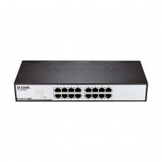 D-Link DES-1016D 16-Port 10/100 Ethernet Unmanaged Rackmount Network Switch