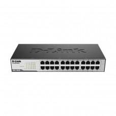 D-Link DES-1024D 24-Port 10/100 Ethernet Unmanaged Rackmount Network Switch