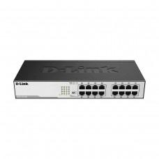 D-Link DGS-1016D 16-Port Gigabit Ethernet Unmanaged Rackmount Network Switch