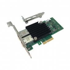 Intel X550-T2 PCI-Express Dual 10Gbit Converged Ethernet Adapter with Included 2U Low Profile Bracket