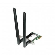 D-Link DWA-582 Wireless AC1200 Dual Band (2.4GHz / 5GHz) PCI-Express Wi-Fi Adapter