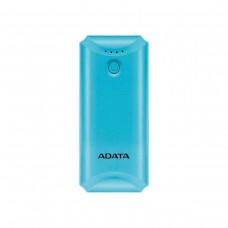 ADATA P5000 Power Bank with Counterfeit Money Detector, 5,000 mAh, Blue