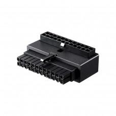 Cooler Master ATX 24 Pin 90° Adapter - Black