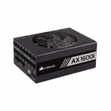 Corsair AXi Series 80 PLUS Titanium PSU, 1600w
