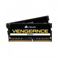 Corsair VENGEANCE 16GB (2 x 8GB) DDR4 DRAM 2400MHz CL16 1.2V CMSX8GX4M1A2400C16 SO-DIMM Memory Kit
