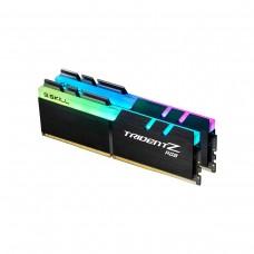 G.Skill Trident Z RGB (For AMD) F4-3600C18D-16GTZRX 16GB (2 x 8GB) DDR4 DRAM 3600MHz CL18 Memory Kit — Black