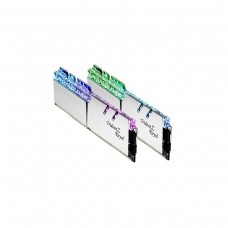 G.Skill Trident Z Royal RGB F4-3600C18D-16GTRS 16GB (2 x 8GB) DDR4 DRAM 3600MHz CL18 Memory Kit — Silver