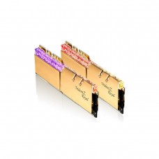 G.Skill Trident Z Royal RGB F4-3600C18D-16GTRG 16GB (2 x 8GB) DDR4 DRAM 3600MHz CL18 Memory Kit — Gold