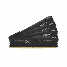 Kingston HyperX Fury 32GB (4 x 8GB) DDR4 DRAM 3600MHz C17 Memory Kit — Black