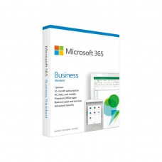 Microsoft Office 365 Business Standard, 1 Year Subscription, Medialess