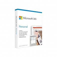 Microsoft Office 365 Personal, 1 Year Subscription, Medialess