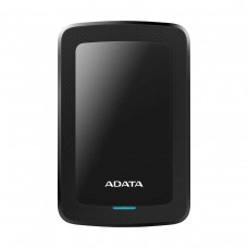 "ADATA HV300 External Hard Drive, USB 3.0, 2.5"", Black, 1TB"