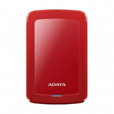 "ADATA HV300 External Hard Drive, USB 3.0, 2.5"", Red, 1TB"