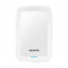 "ADATA HV300 External Hard Drive, USB 3.0, 2.5"", White — 1TB"