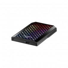 ADATA SE900G External RGB SSD, USB 3.2 Gen2x2 Type-C, Black, 1TB
