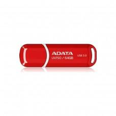 ADATA UV150 Flash Drive, Red, USB3.2, 64GB