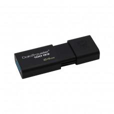 Kingston DataTraveler 100 G3 Flash Drive, USB3.1, 64GB