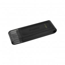 Kingston DataTraveler 70 Flash Drive, USB3.2 Type-C, 32GB