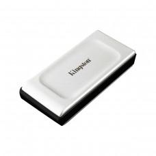 Kingston XS2000 External SSD, USB 3.2 Gen 2x2 Type-C, Silver — 1TB