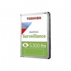 "Toshiba S300 PRO HDWT31AUZSVA Hard Drive, SATA 6Gb/s, 3.5"", 7200RPM, 10TB"